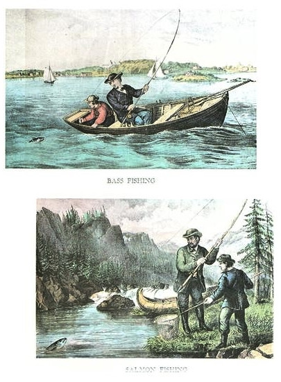 FISHING - SALMON & BASS