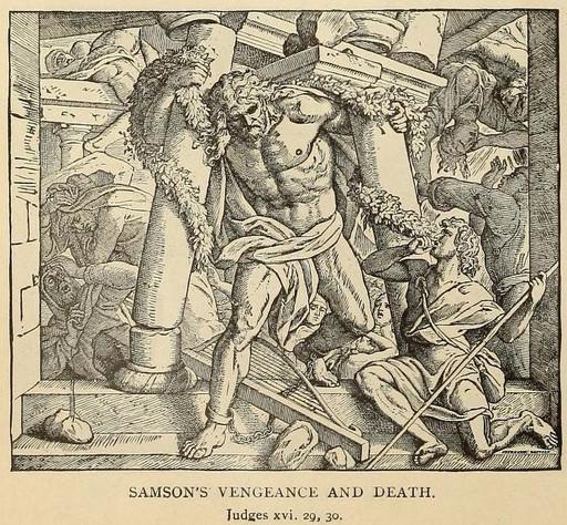 Samson's vengeance