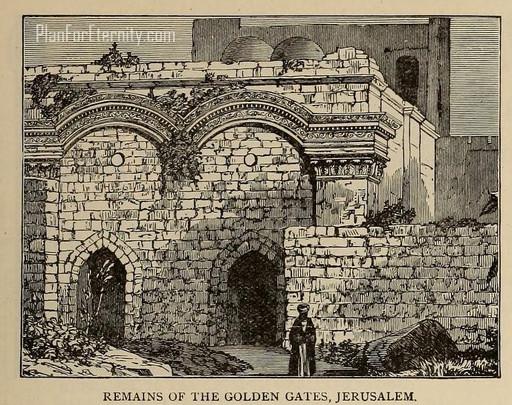 Remains of the Golden Gates, Jerusalem