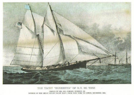 THE YACHT HENRIETTA OF N.Y.
