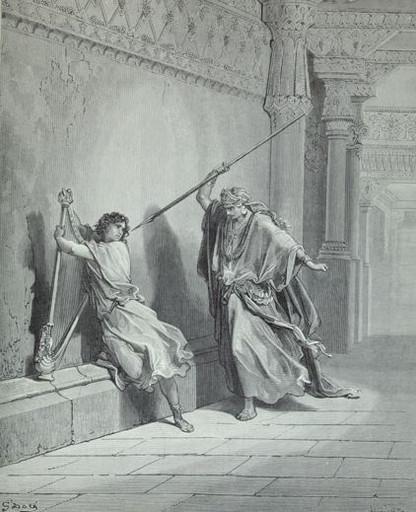 Saul attacks David