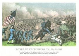 BATTLE OF WILLIAMSBURG, VIRGINIA