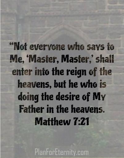 Jesus enforces God's commandments