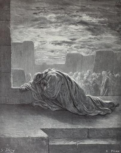 Ezra prays for his people