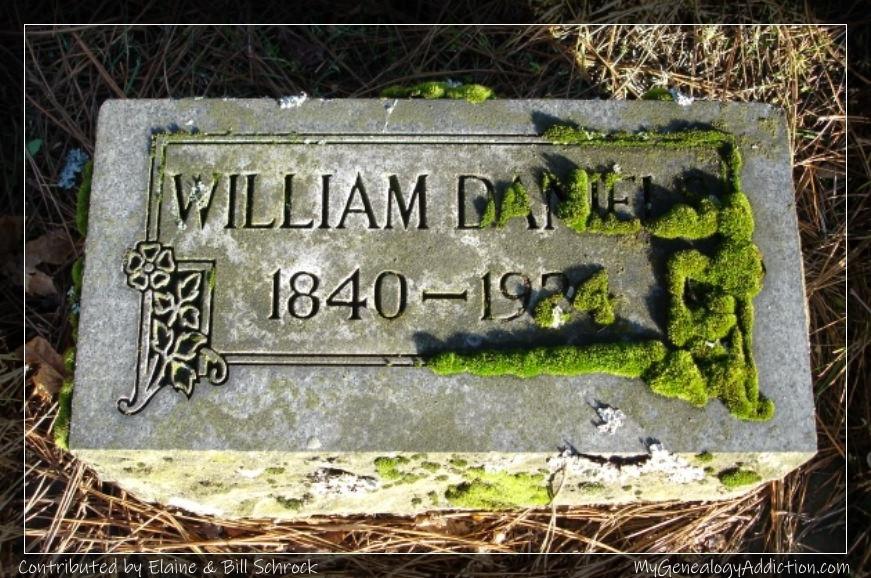 William Daniels burial