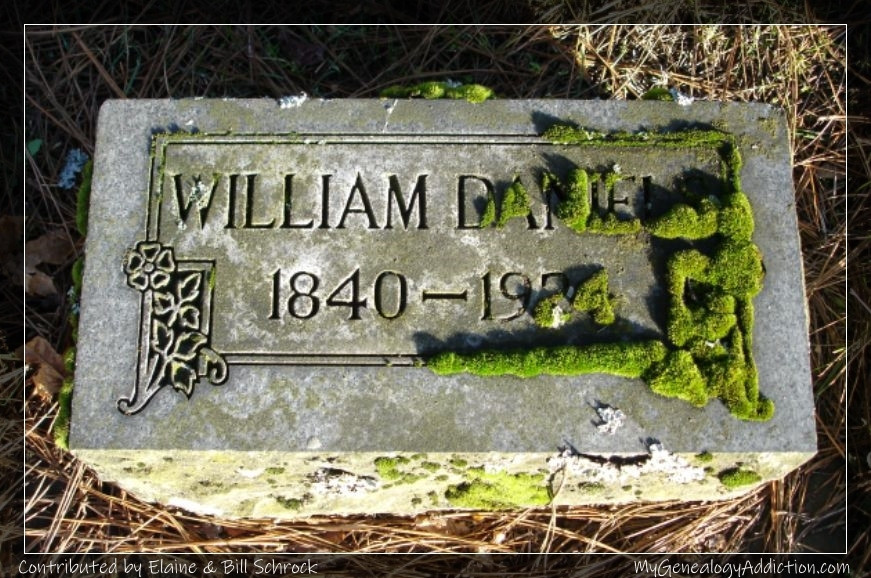 William Daniels burial
