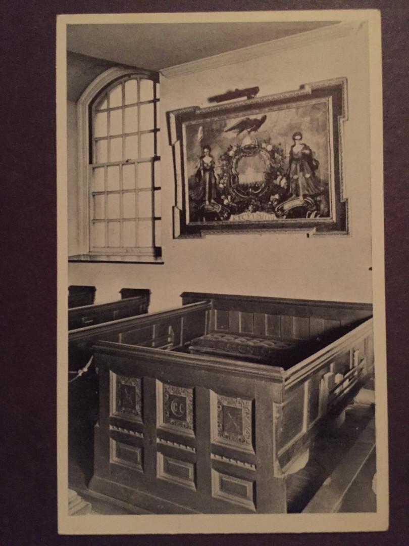 St. Paul's Chapel pew of George Clinton