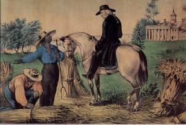 WASHINGTON AT MOUNT VERNON 1797