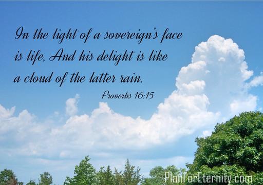 God's light is life