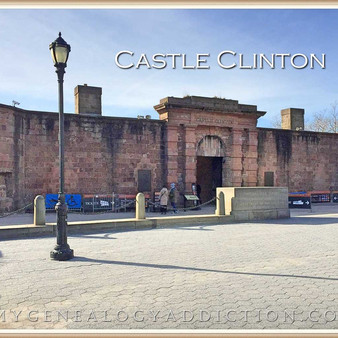 Castle Clinton in Battery Park, NYC