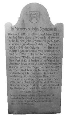 John Seymour III burial