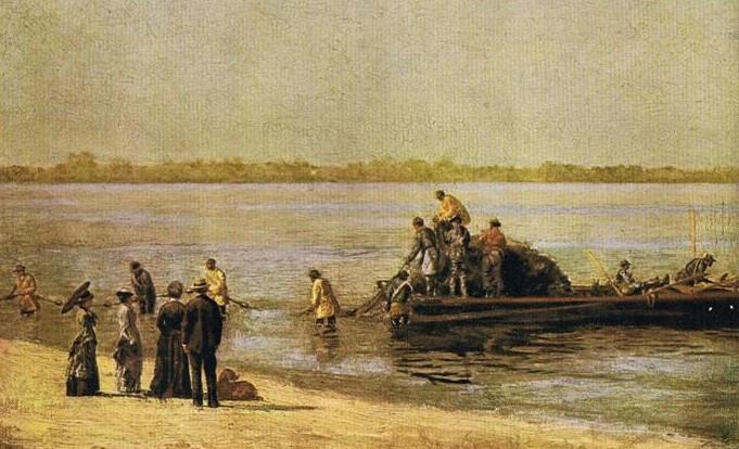 SHAD-FISHING GLOUCESTER