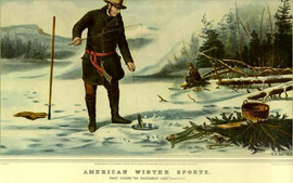 AMERICAN WINTER SPORTS - ICE FISHING