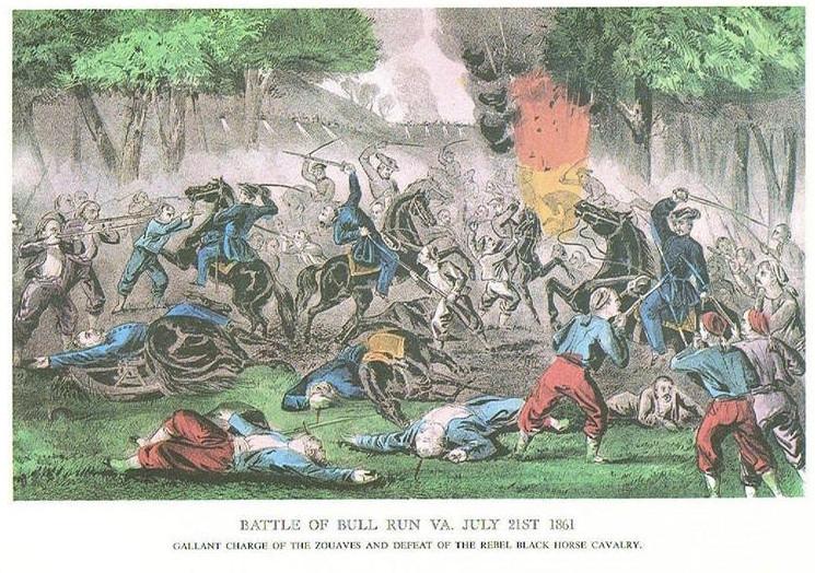 BATTLE OF BULL RUN 1861