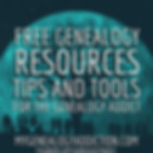 Genealogy tips and resouces