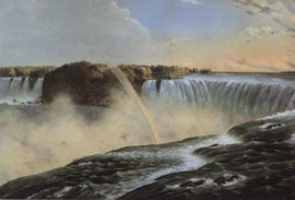 THE FALLS OF NIAGARA FROM THE CANADA SIDE