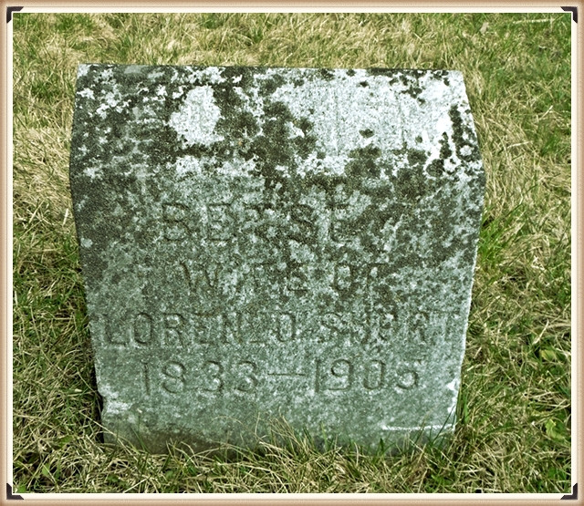 Betsey (Stowell) Harvey Short's burial