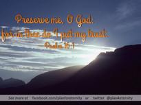 Psalms 16:1
