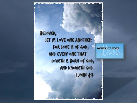 Love is of God