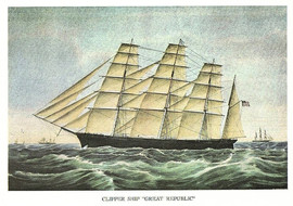 CLIPPER SHIP GREAT REPUBLIC
