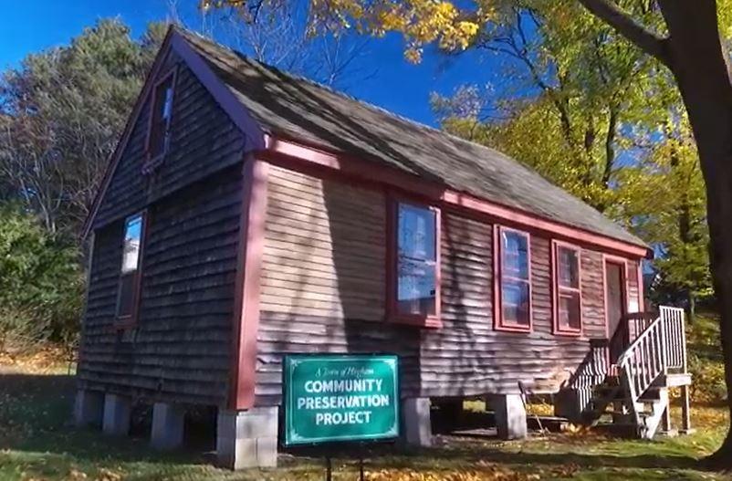 The Stowell House in Hingham, Massachusetts