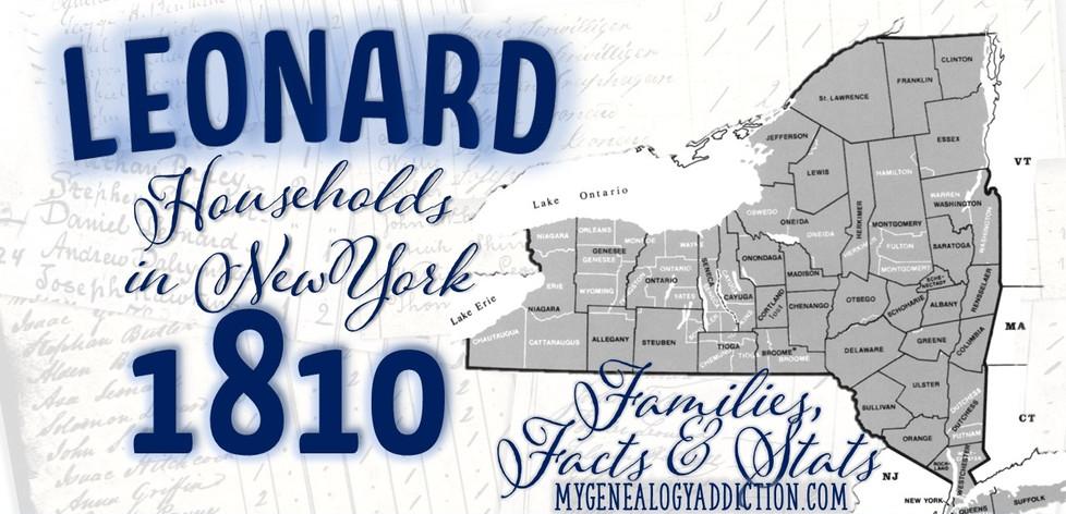 Leonards on the 1810 Census NY.jpg