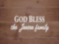 God bless the family