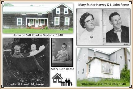 John and Mary Reese family photos