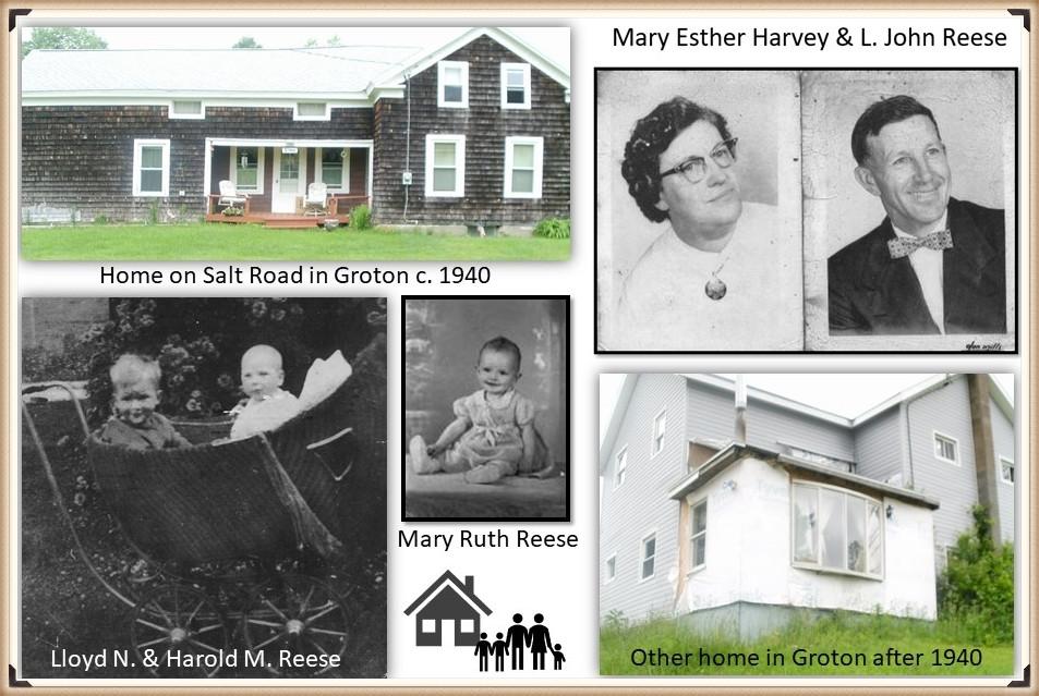 Lloyd Reese family photos