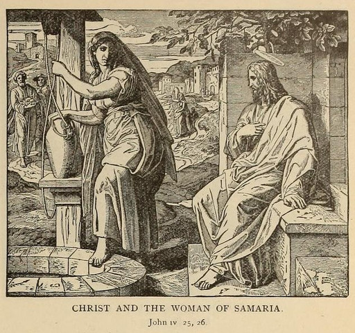 Christ speaking with the woman of Samaria