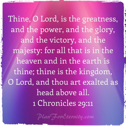 The Lord of all heaven and earth