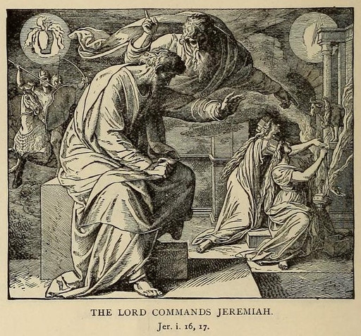 The Lord commands Jeremiah