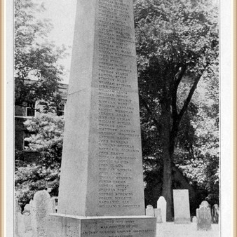 James Ensign, among the first settlers of Hartford