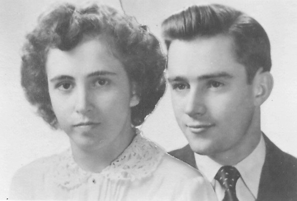Margaret Dickinson and Lloyd Reese