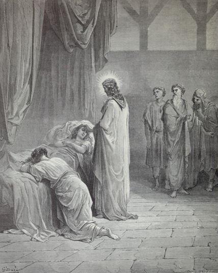 The resurrection of Jairus' daughter