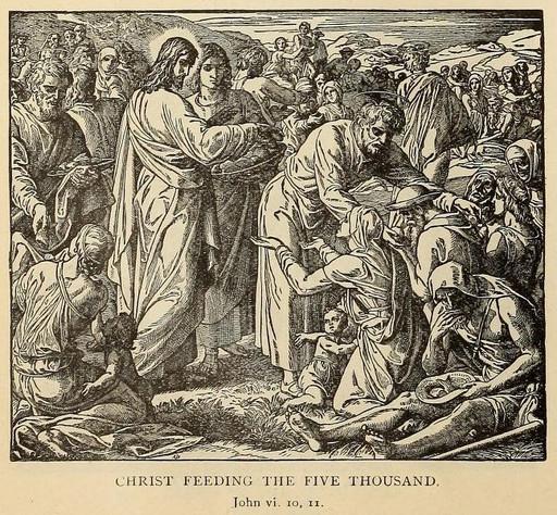 Christ feeding the five thousand