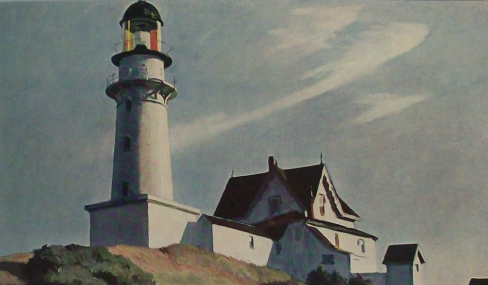 LIGHT HOUSE AT TWO LIGHTS