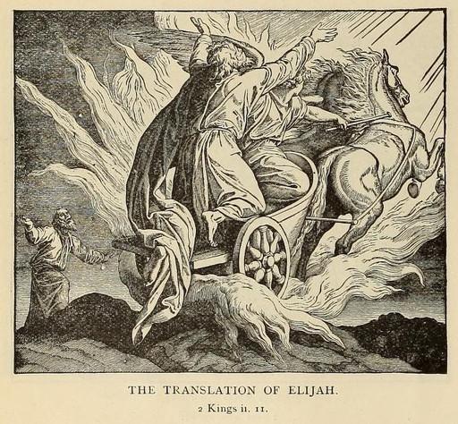 Elijah is translated to heaven