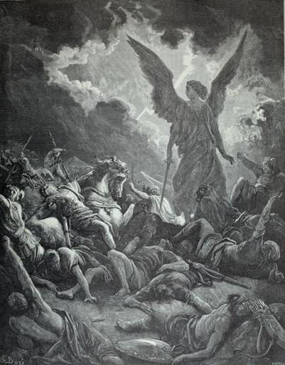Sennacheribs army destroyed