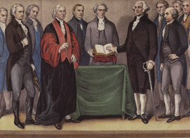 THE INAUGURATION OF WASHINGTON