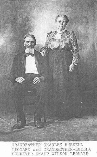 Charles & Luella Knapp photo courtesy of Dryer Family Photos