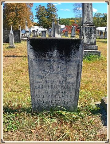 Hannah (Conrad) Hollenbeck's grave