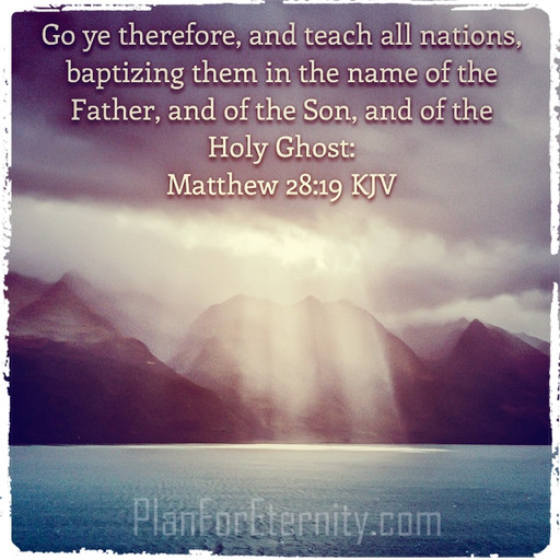 Spread the gospel to ALL nations for their salvation