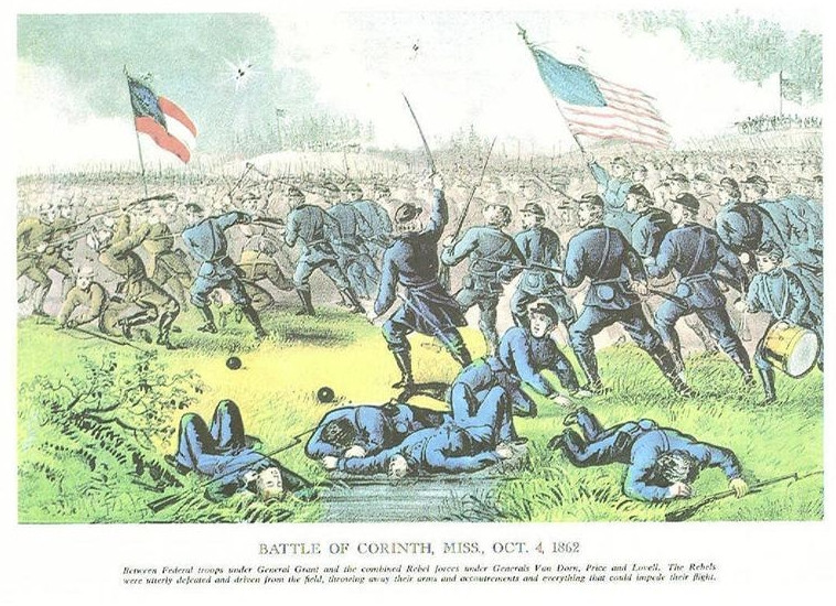 BATTLE OF CORINTH 1862