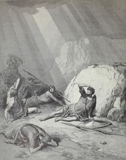 Paul on the road to Damascus