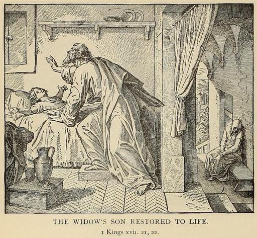 Elijah pleads for the child