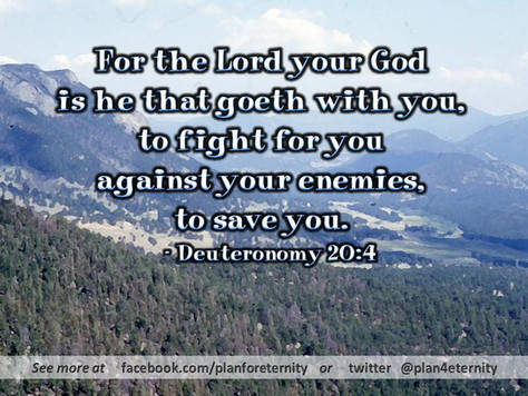 The Lord will save you from your enemies