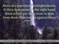 Psalms 17:7
