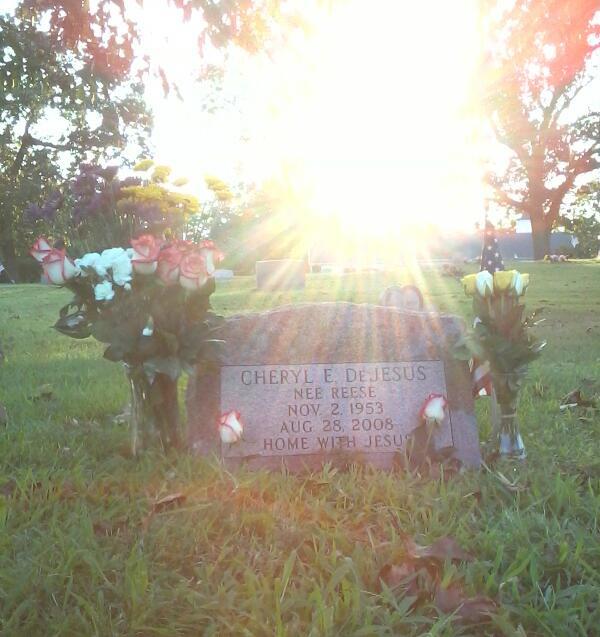 Cheryl (Reese) DeJesus burial