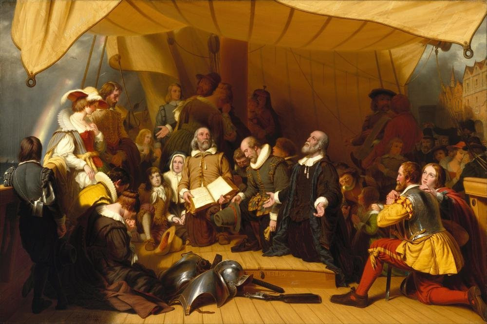Embarkation of the Pilgrims
